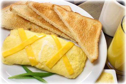 Classic omelette