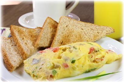 California veggie omelette
