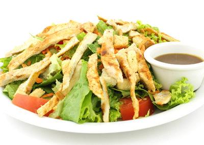 house salad con pollo
