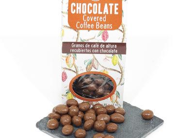 recubiertos chocolate cafe