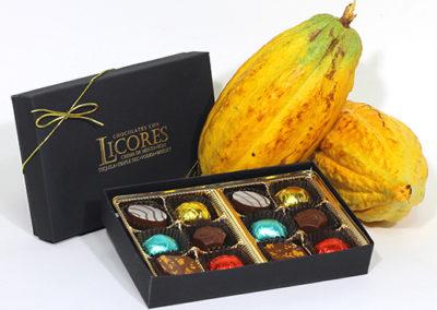 chocolates rellenos licores
