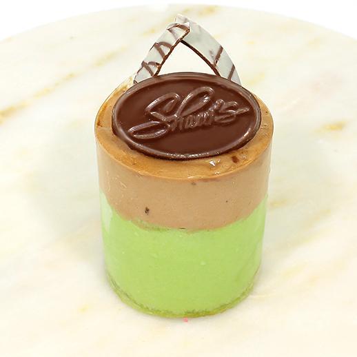 Mousse de Pistachio con Chocolate