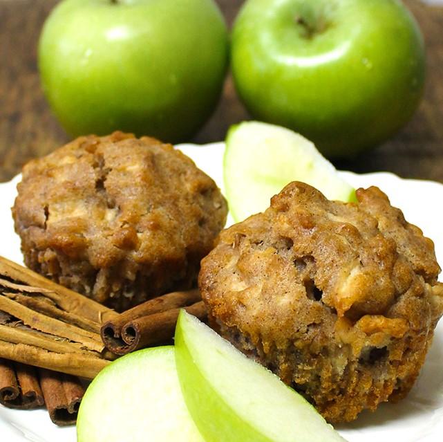 Muffins de Manzana sin azúcar