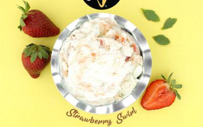 Strawberry Swirl Gelato