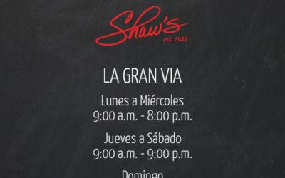 Shaw's LGV