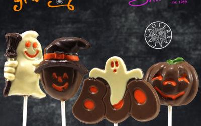 Paletas de Halloween