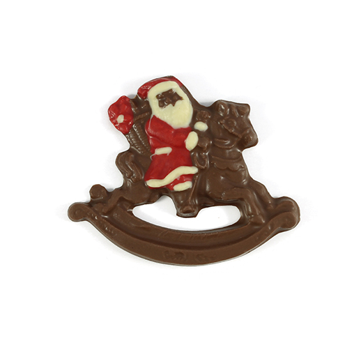 Santa Claus en balancín