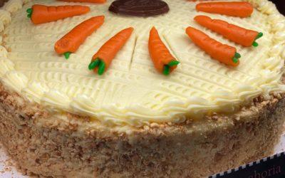 Carrot cake – Pastel de Zanahoria