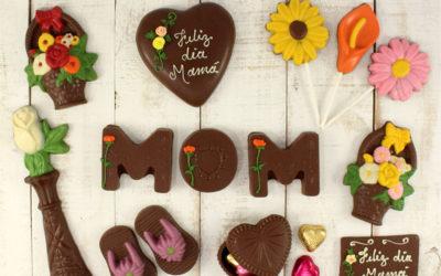 Flores de chocolate para mamá
