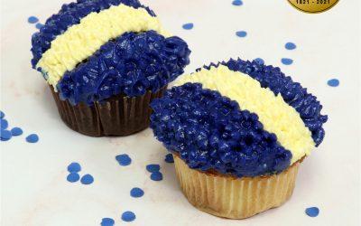 Cupcakes Patrióticos