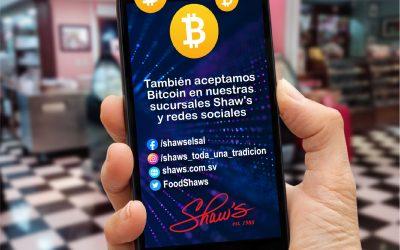 ¡Aceptamos Bitcoin!