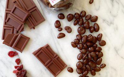 Cranberries en Chocolate Oscuro 70% cacao